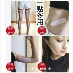 Weight Loss Sticker - Natural Health Professional Thigh Abdominal Fat Burner.