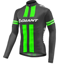 Load image into Gallery viewer, GIANT Men's Cycling Jersey Long Sleeve Mtb Bike Bicycle Outdoor Sports Jerseys Shirt Cycle Wear Ciclismo Cycling Clothing