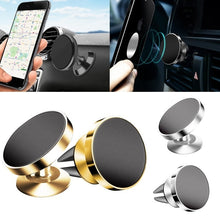 Load image into Gallery viewer, Magnetic Car Phone Holder for iPhone Samsung Magnet Mount 360 Rotation Car Holder