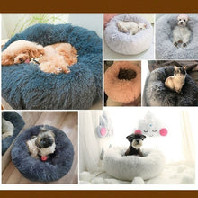 Load image into Gallery viewer, Dog Bed Comfortable Donut Cuddler Round Dog Bed Ultra Soft Washable Dog and Cat Cushion Bed Cama Para Cachorro