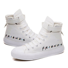 Load image into Gallery viewer, Friends TV Show Printed Canvas Shoes Cozy Sneakers