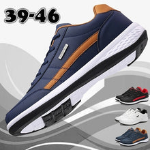 Load image into Gallery viewer, Men's Fashion Leather Casual Sneakers Sports Running Shoes Sapatos Femininos Zapatos De Hombre Size