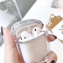 Load image into Gallery viewer, Gorgeous Quicksand Transparent Apple Airpods Case Cover