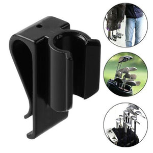 Newest 14X Golf Club Holder Clamps Training Accessories Putter Clip On Organizer