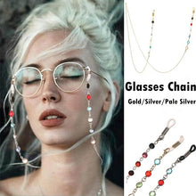 Load image into Gallery viewer, 1PC 70cm Long Keeper Glasses Chain Eyewear Accessories Stainless Steel Sunglasses Necklace Eyeglass Lanyard Strap