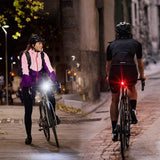 Ultra Bright Bike Lights Rechargeable 800 Lumens Headlight and Taillight Set, LED Bicycle Lights Front and Back, Quick Release Safety Lamp Cycling Accessories for Road/Mountain/City Bikes