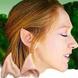 2 Pairs Fairy Pixie Elf Cosplay Halloween Costume Latex Pointed Prosthetic Ear Halloween Party Props