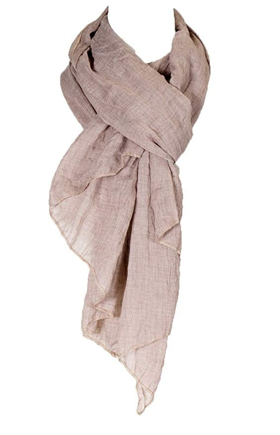 27 colors cotton solid color pleated linen scarf, fashion scarf, multicolor, beach scarf 1 pcs