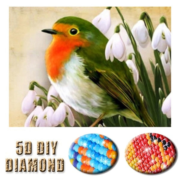 Full Drill 5D Diamond Embroidery Scenery diamond Mosaic Embroidery Diamond Picture Home Art Gift