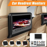 Luxurious 9-inch Car Headrest DVD Player with Rear Seat Monitor 800*480 HD LCD Screen