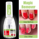 15ML Magic Remover Nail Polish Remover All For Manicure Lint-Free Health Napkin Cleaner Nail Degreaser UV Gel Nail Polish Remover