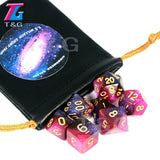 Special Galaxy Dice Set 7 Pcs Dice Fantastic Effect