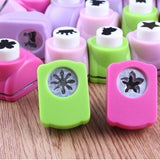 1/5/12pc Different Shapes New Printing Paper Hand Shaper Scrapbook Tags Cards Craft DIY Punch Cutter Tool Heart Crafting Tools