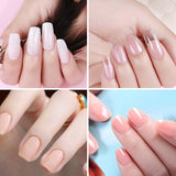 New Polygel Nail Acrylic Poly Gel Pink Clear Crystal Uv Led Building Gel Tips Enhancement Slip Solution Quick Extension Gel