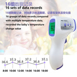 2020 Upgrade Non Contactless Baby/Adult Infrared Forehead Thermometer  LCD Display IR Infrared Thermometer Contactless Household Digital Thermomete Measurement Gun