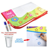 NEW Drawing Water Pen Painting Magic Doodle Aquadoodle Mat Board Kid Boy Girl Toy