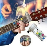 1/2 Pcs  Anti-pain finger cots guitar assistant Chordbuddy Teaching Aid Guitar Learning System Teaching Aid