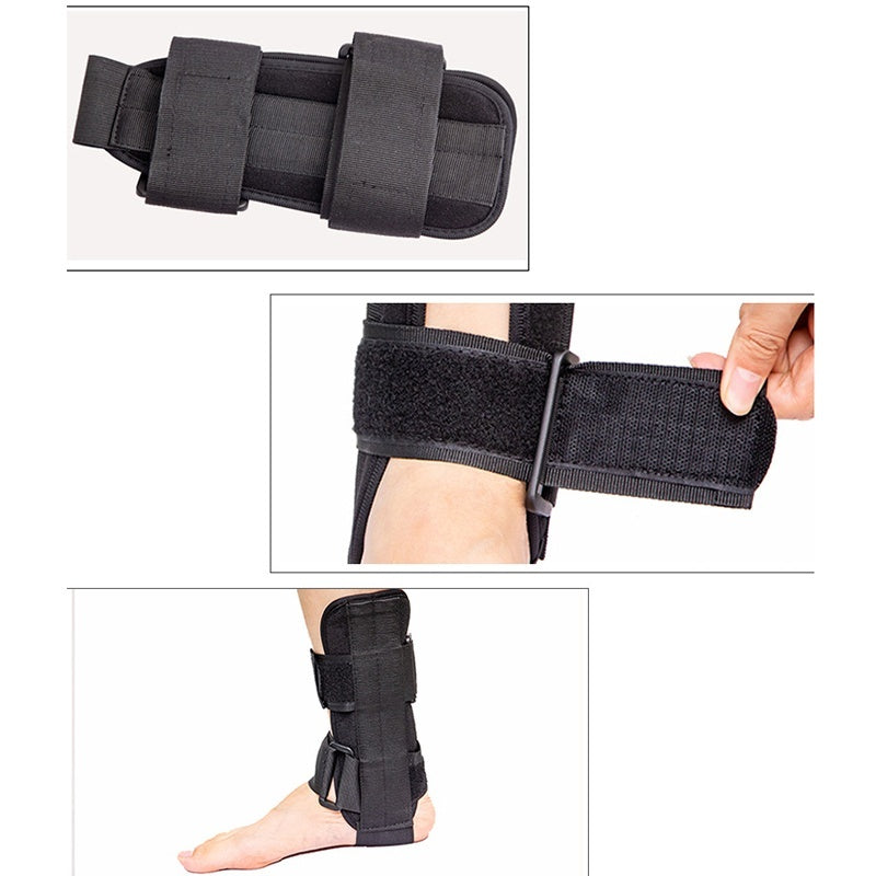 1Pcs Medical Lace Up Ankle Brace Support Stabilizer For Ankle Injury Rehab Mild Ankle Sprains Distortion Sport Activities Protection