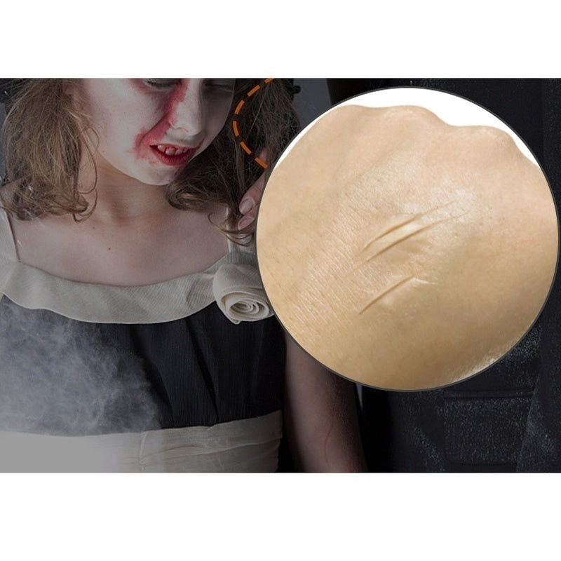 1PC 15g Special Effects Makeup Drama Wax Fake Scars Blood Skin Fake Wound Scar Wax Cosplay Special Costume Makeup