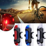 Bike Light USB Rechargeable 300 Lumens 3 Modes Bicycle Lamp Light Front Headlight Bike Bicycle LED Flashlight Lantern With Taillight
