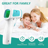 2020 Newest Lcd Display Non-Contact Infrared Forehead Thermometer For Adults And Children without Battery Xz