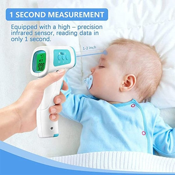 XF-01 Non-contact Infrared Thermometer Handheld Infrared Thermometer High Precision Measures Body Temperature