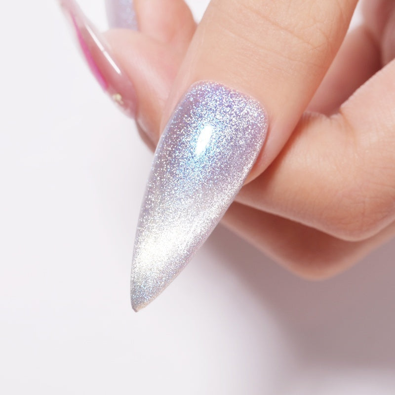BORN PRETTY Auroras Cat Eye Gel Nail Polish Snowlight Shining Magnetic Nail Gel
