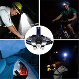 2022 Newest Brightest 21 LED 9 Modes Work Headlamp, USB Rechargeable Waterproof Headlight