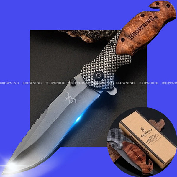 2020 New High Hardness Hunting Knife Outdoor Portable Knife Multi-Function Knife Camping Survival Tool Swiss Army Knife