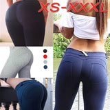 New Spring Summer Autumn Women Stretch Sexy Hips Long Trousers Elastic Hips Pants Slimming Leggings Slim Fit Sweatpants Yoga Pants