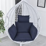 New Fashion 9 Colors Swing Chair Cushion Mat Hanging Indoor Outdoor Patio Egg Chair Seat Pad Pillow (Without Chair)