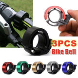 Bicycle Bell Alloy Mountain Road Bike Horn Sound Alarm Safe Riding Handlebar Metal Ring Bicycle Accessories