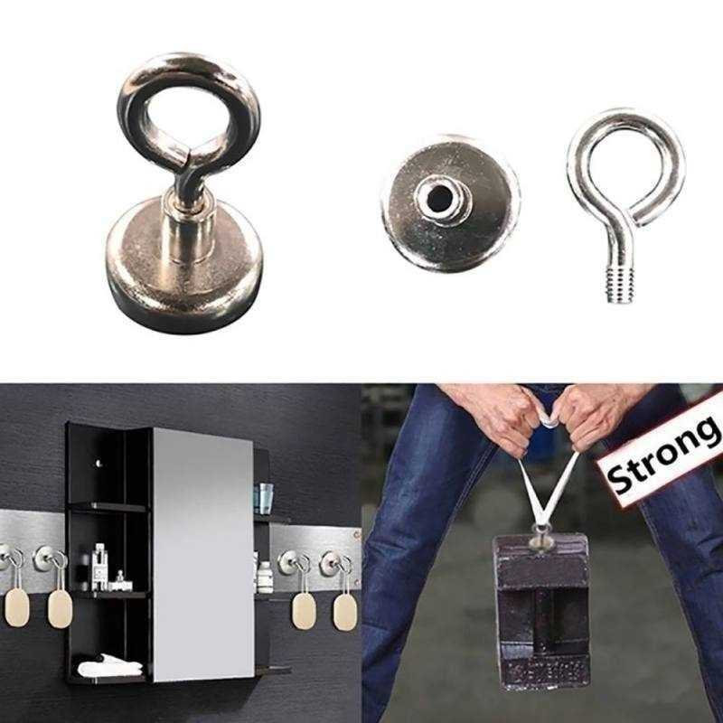 Strong Magnet 16mm/25mm/36mm/40mm Round Neodymium Magnets with Countersunk Hole and Eyebolt