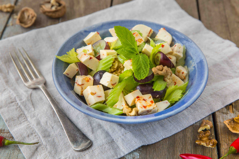 Celery, Grapes & Caciotta Salad