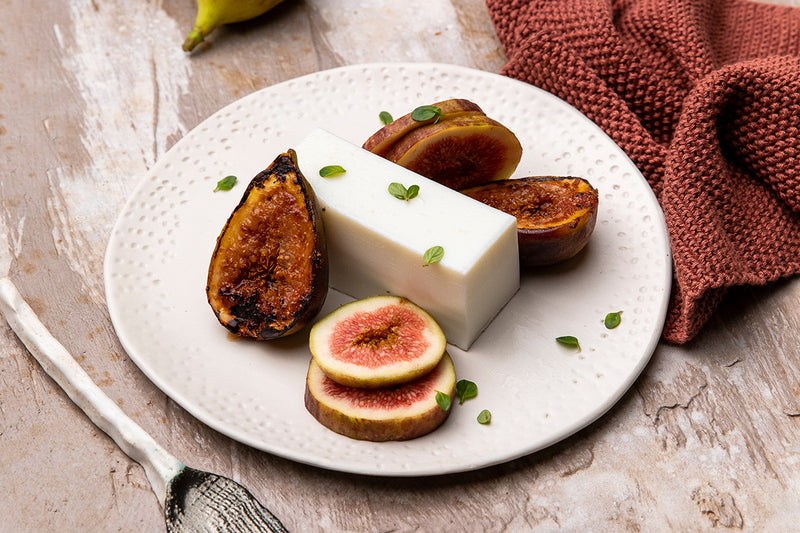 Pannacotta with Grilled Figs