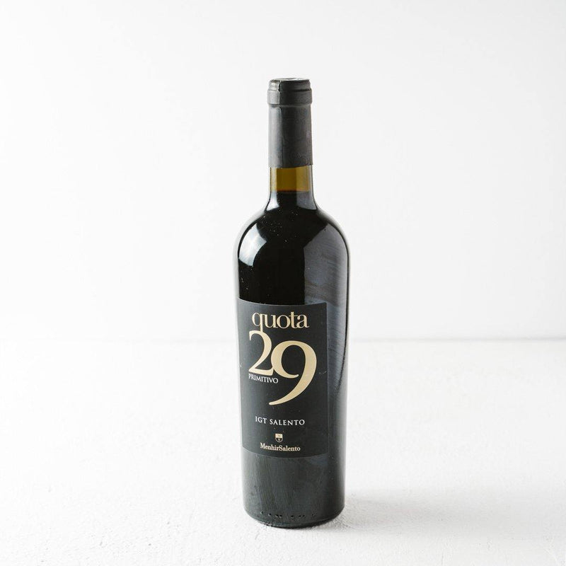Primitivo Quota29 Wine