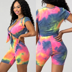 BB CANDY DYE BIKER SET
