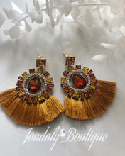 Load image into Gallery viewer, Crystal Accent Earrings