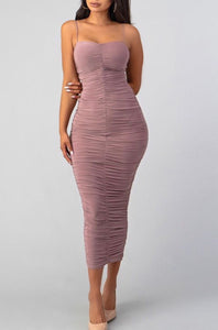 Analfa Dress - Mauve