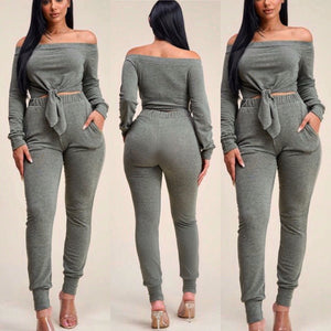 Olive Two 2pc Pants Set