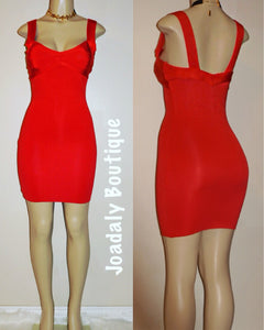 Love me dress- RED