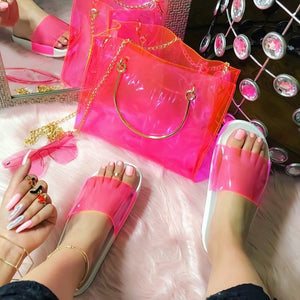 PINK LADY SANDALS