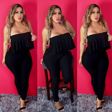 Load image into Gallery viewer, Rogina Black Jumpsuit