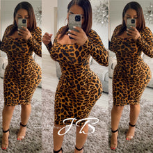 Load image into Gallery viewer, Leoparda  Lady Dress