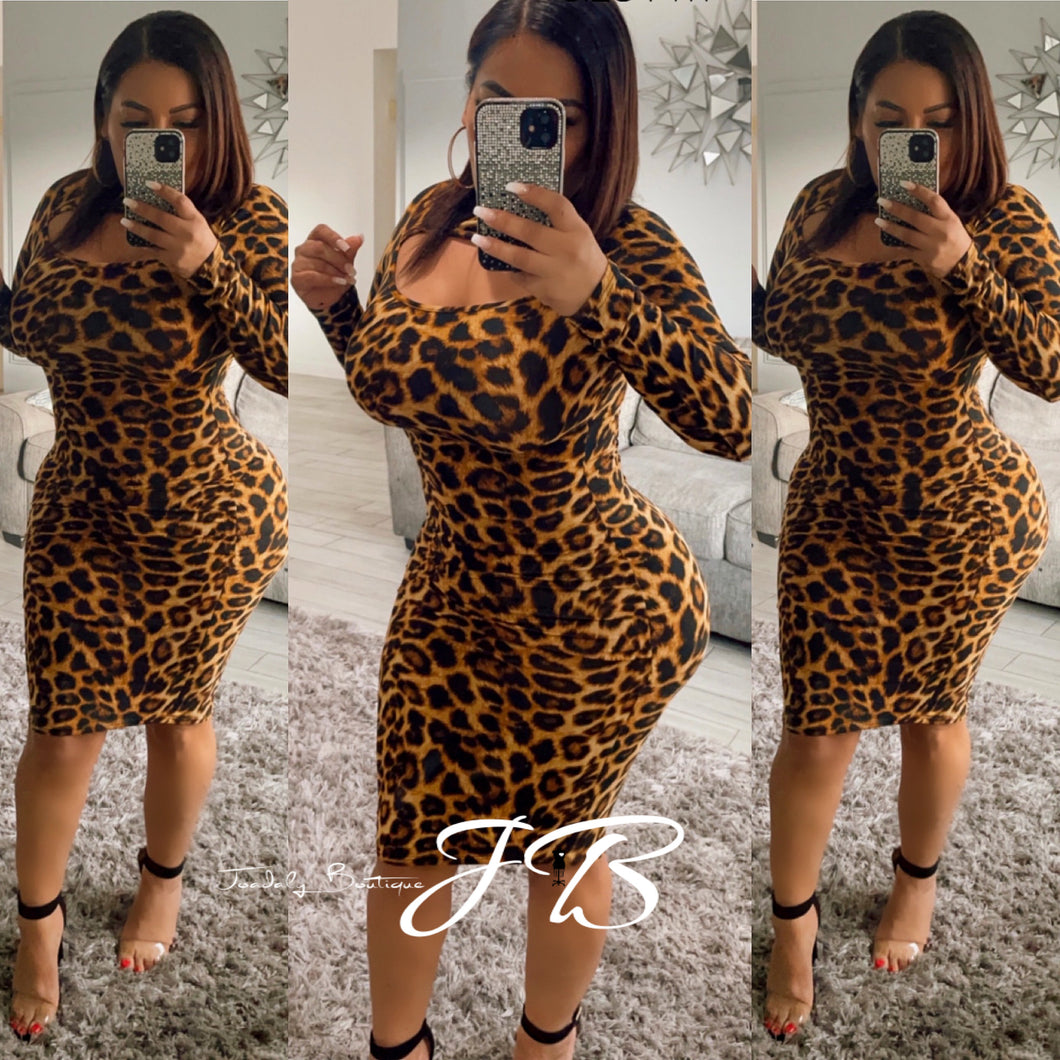 Leoparda  Lady Dress