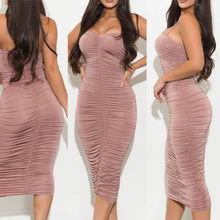 Load image into Gallery viewer, Analfa Dress - Mauve