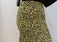 Load image into Gallery viewer, Leopard Maxi Ruched Skirt
