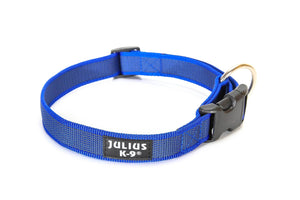 Julius K-9 Webbed Dog Collar Blue
