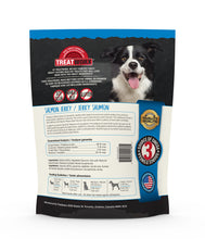 Load image into Gallery viewer, Treatworx Salmon Jerky Border Collie Guaranteed Analysis