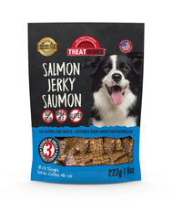 Load image into Gallery viewer, Treatworx Salmon Jerky Border Collie 227g